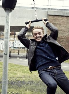 Tom Felton, love it!!!!!