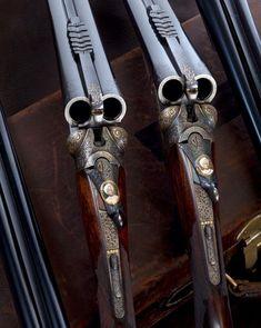 Shooting Guns, Game Shooting, Gun Art, Double Barrel, Fire Powers, Custom Guns, Hunting Rifles, Cool Guns, Guns And Ammo