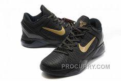 5a91521af775 Nike Zoom Kobe Vii System Elite Mens Black Gold