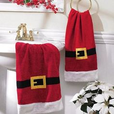 Accesorios para Decorar el Cuarto de Baño en Navidad
