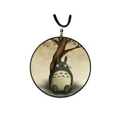Totoro  pendant handmade by theBlackRabbitStudio on Etsy, $6.00
