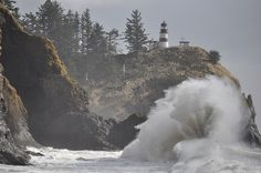Cape Disappointment Lighthouse, Ilwaco, WA by ed.wrzesien, via Flickr