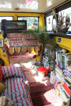houseboat canal boat interiors - Google Search