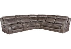 Shop for a Cindy Crawford Home Barton Springs Gray 6 Pc Sectional at Rooms To Go. Find Sectionals that will look great in your home and complement the rest of your furniture.
