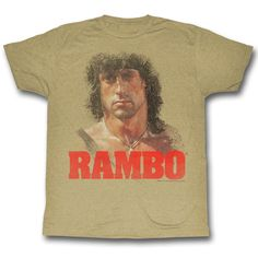 "Checkout our #LicensedGear products FREE SHIPPING + 10% OFF Coupon Code ""Official"" Rambo T-Shirt - Rambo - T-shirt - Price: $24.99. Buy now at https://officiallylicensedgear.com/rambo-t-shirt-ram547"