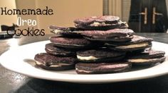 click on the photo above to get an amazing recipe for homemade oreos!