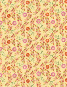 Leafy Vines Fabric by Timeless Treasures at TCSFabrics.com #Fabric #NoveltyFabric #QuiltingFabric #CottonFabric #QuiltingCotton #TimelessTreasures #BohoSafari #FloralFabric #LeafyVines #C4314 #Quilting #Sewing