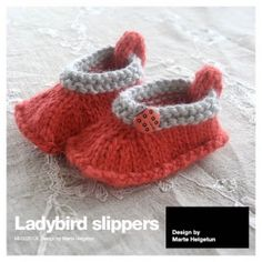 free pattern - ladybird slippers