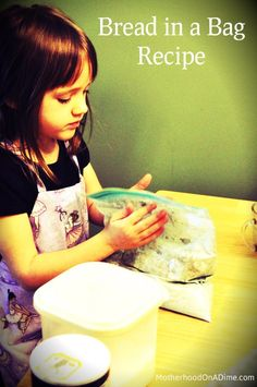 bread in a bag recipe -- great activity for Kansas Day, since Kansas is the wheat state