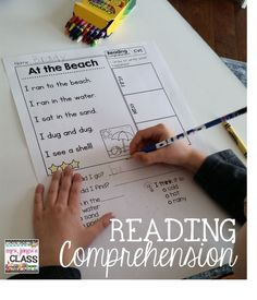 Primary Reading Comprehension -- 50 passages with short and long vowel practice. $