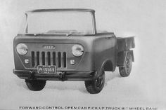 Jeep fc open cab pick-up