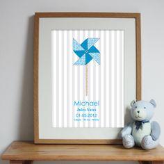 Bespoke #gift ideas: personalised #poster design for boys