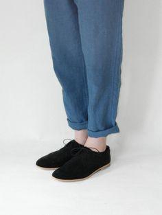 nubuck derby shoes
