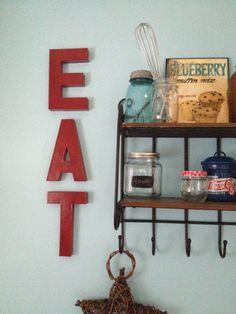 Wall Decor Ideas for a Pretty Kitchen