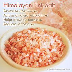 Himalayan Pink Salt | The Natural Beauty Workshop