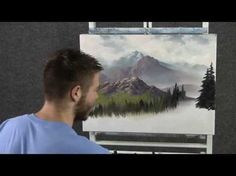 Paint with Kevin Hill - Springtime Mountains Acrylic Painting Lessons, Acrylic Painting For Beginners, Watercolor Paintings Abstract, Painting Videos, Acrylic Painting Canvas, Painting Techniques, Watercolor Artists, Abstract Oil, Watercolor Illustration