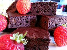 Slimming World Delights: Brownies (health snacks slimming world) Slimming World Brownies, Slimming World Sweets, Slimming World Puddings, Slimming World Diet, Slimming Word, Healthy Desserts, Dessert Recipes, Healthy Foods, Healthy Recipes