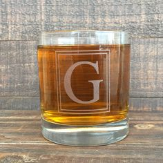 The perfect gift for men, engraved monogrammed whiskey glasses, groomsmen gifts, custom gifts.