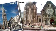 The Christchurch Cathedral, once the the central feature of the city now stands in ruins with it's future restoration or replacement still very uncertain. Christchurch New Zealand, See Videos, Building Structure, 6 Years, Barcelona Cathedral, Perspective, England, Journey