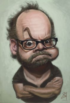 Paul Giamatti - a great drawing of one of my favorite actors. Expressions sometimes make or break the caricature.