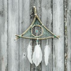 Купить Ловец снов 3 гранный - Декор, феншуй, для дома, интерьер, подарок, отделка, дизайнер