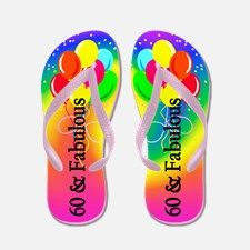 Sparkling 60th Flip Flops Take 20% Off Your Order Use Code: CLOVER20 for our fun and fabulous 60th birthday flip flops and gifts. http://www.cafepress.com/jlporiginals/6515962 #60thbirthday #60yearsold #Happy60thbirthday #60thbirthdaygift #60thbirthdayidea #Personalized60th