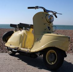 1955 Peugeot S57 Scooter