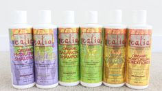 Love, love, love this brand from Canada (they now have a USA website) Works great on 'all' hair types especially mine 4a/4b.  Love their deep conditioner too in a jar.