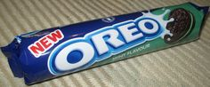 FOODSTUFF FINDS: New Mint Oreo (Waitrose) [By @Cinabar]