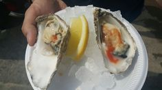 Whistable, Kent. 80p oysters. Try to beat that. One of the best tasting oysters I ever had too compared to the expensive ones!
