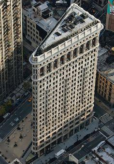 Yann Arthus-Bertrand  Flatiron Bldg., NYC