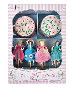 Another great find on #zulily! I'm a Princess Cupcake Kit by Meri Meri #zulilyfinds