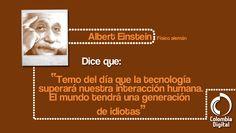Nuestra frase del día por Albert Einstein.
