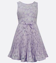 7184355e7 Bridgette Dress Dillards, Iridescent, Pleated Skirt, Lace Dress, Bonnie  Jean, Formal