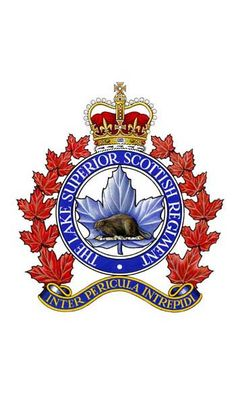 The Lake Superior Scottish Regiment. Military Units, Military Police, Usmc, Military Service, Royal Canadian Navy, Canadian Army, Military Insignia, Lake Superior, Coat Of Arms