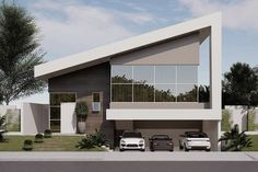 Architectural Design House Plans, Modern House Design, Architecture Design, Contemporary Design, Style At Home, Tiny House Loft, Modern Architects, Weekend House, House Elevation