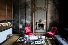 Casa Mollino, Turin, Italy. http://yatzer.tumblr.com/post/90850375584 Photo by Bart Kiggen