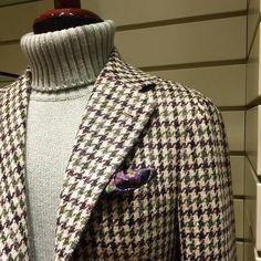 """alexander-abbigliamento: """"Giacca #orazioluciano e maglione due fili #cashmere #fedeli (presso Alexander) """""""