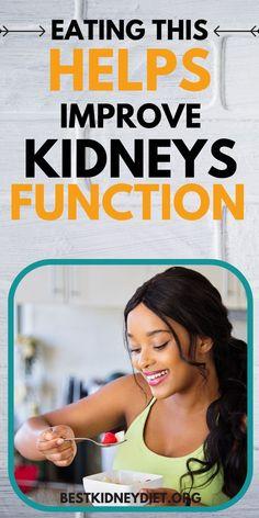 Healthy Kidney Diet, Healthy Kidneys, Kidney Health, Healthy Eating, Causes Of Kidney Disease, Kidney Disease Symptoms, Kidney Recipes, Diet Recipes, Kidney Detox Cleanse