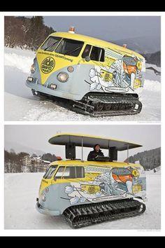 VW Snowcat/DJ Booth