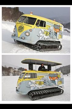 VW Snowcat/DJ Booth