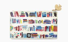Bookshelf Pouch | 33 Impossibly Cute Ways To Cover Your Body In Books