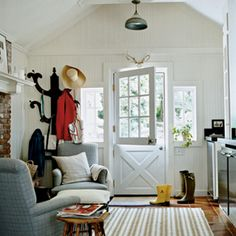 Country Entryway - Ideas for Creating an Inviting Entryway - Coastal Living Mobile