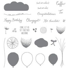 the stamp review crew: Stamp Review Crew: Balloon Celebration Edition Stampin Up, Balloon Celebration