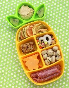 Boy's Nibble Tray Bento Lunchbox Ideas