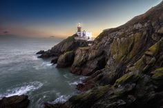 Sunset at the Baily Lighthouse, Howth Head in Dublin - Bryan Hanna Irish Landscape Photography