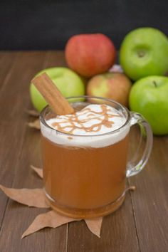 This Apple Cider is oh so a-peel-ing. Get it?