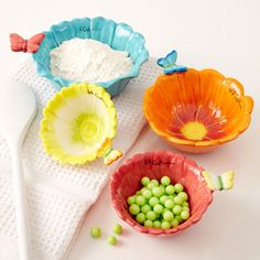 Two's Company Butterfly Measuring Cup Set from Elizabeth's Embellishments