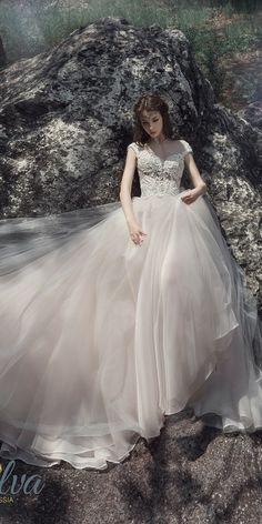 Milva Bridal Wedding Dresses 2017 Reenia / http://www.deerpearlflowers.com/milva-wedding-dresses/4/