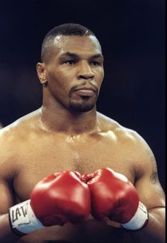 Iron Mike Tyson, one of the most feared heavyweights of the modern era